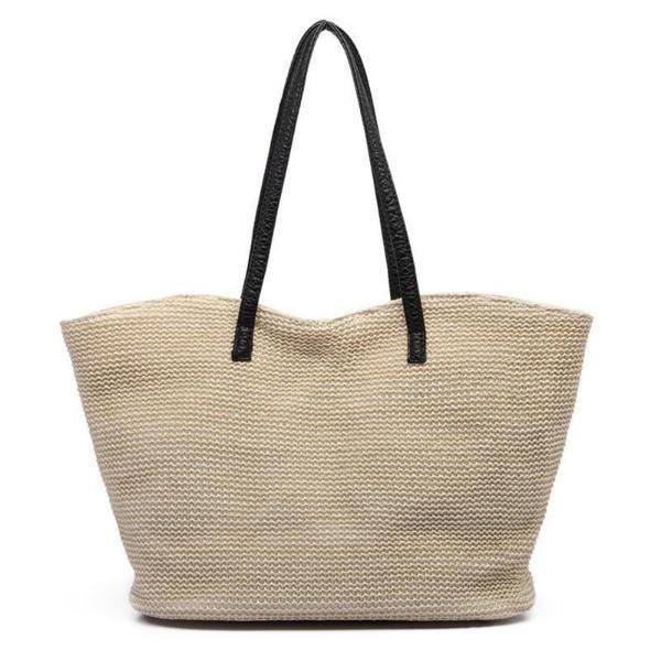 Off White Tote Bag