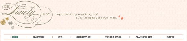 Oh Lovely Day Wedding Blog