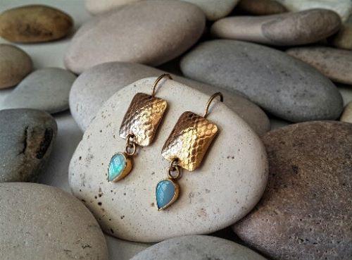 Opal Earings Etsy