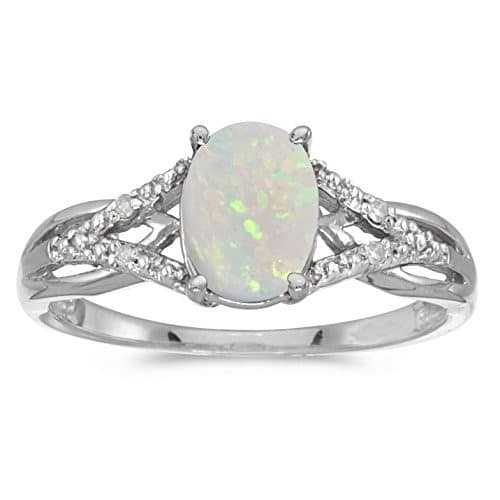 Opal Engagement Rings Canada