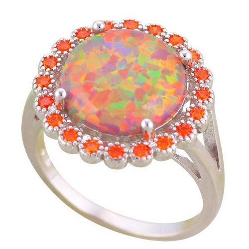 Opal Ring Band