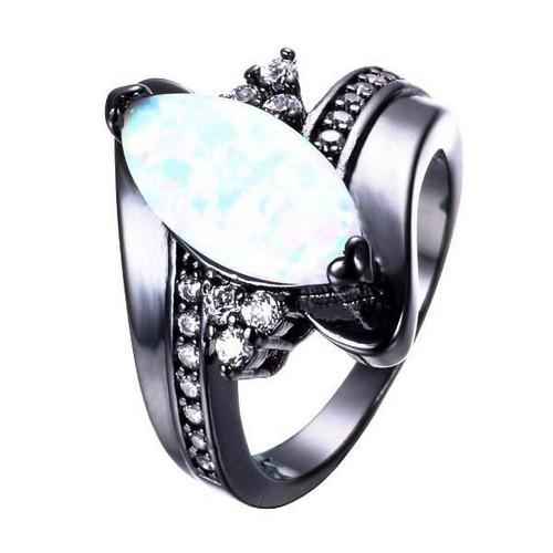 Opal Ring Rose Gold