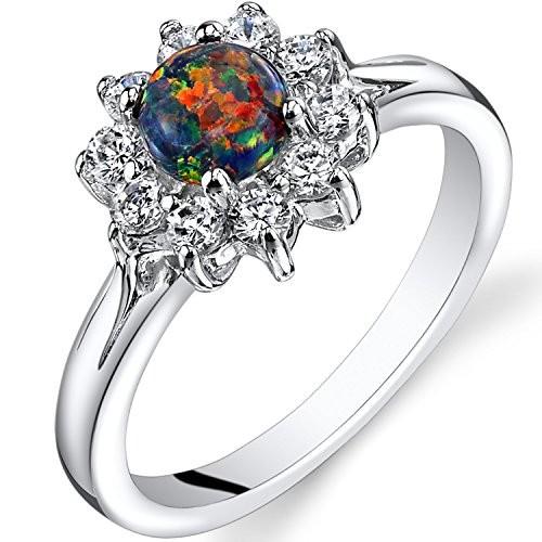Opal Vintage Engagement Rings