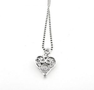Open Heart Necklaces