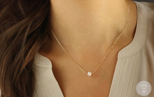Pearl Necklace Design Indian