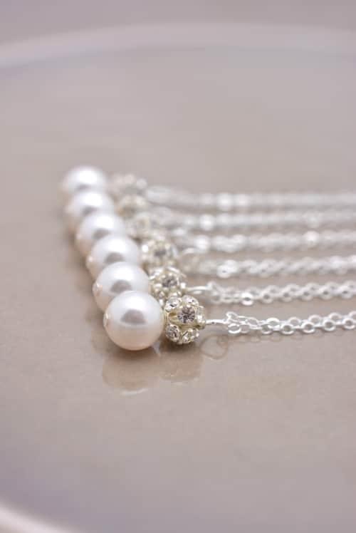Pearl Necklace Designs Ideas