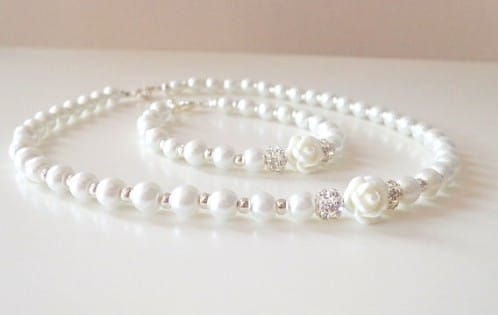 Pearl Necklace Tiffany