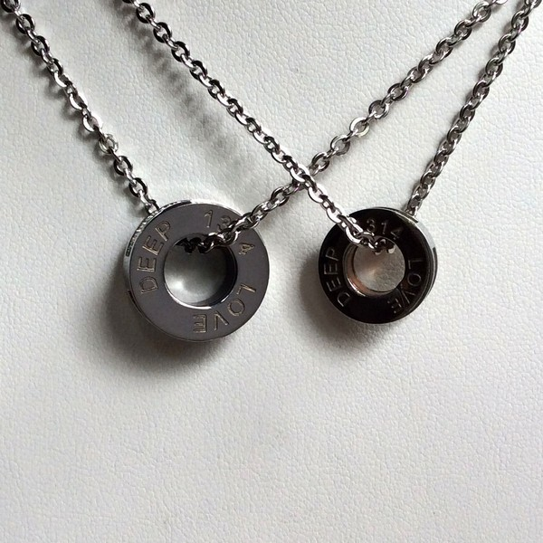 Personalized Couple Necklaces