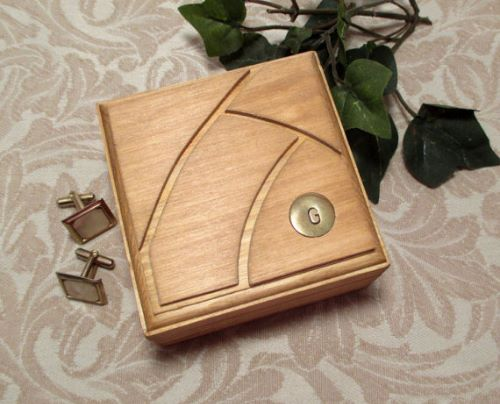 Personalized Mens Jewelry Box