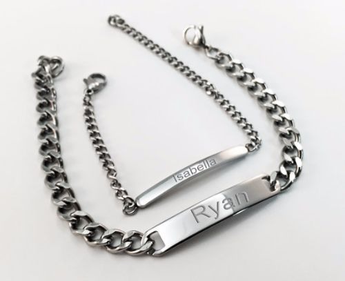 Personalized Name Bracelets For Couples