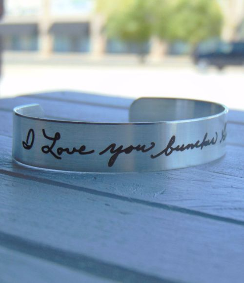 Personalized Silver Bangles