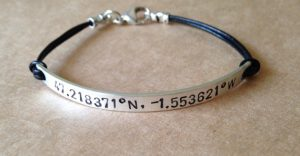 Personalized Sterling Silver Bracelets For Men
