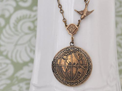Picture Locket Necklace