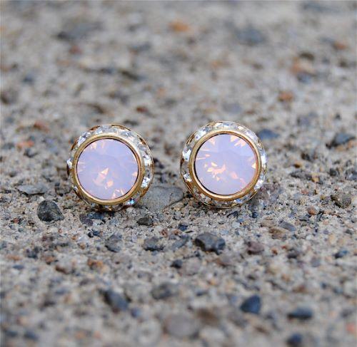 Pink Opal Earings