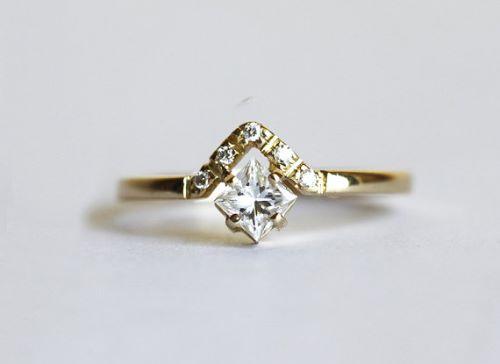 Princess Cut Engagement Rings For Women