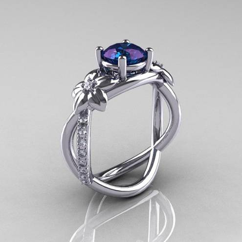 real alexandrite rings june birthstone meaning