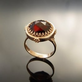 Retro Engagement Ring