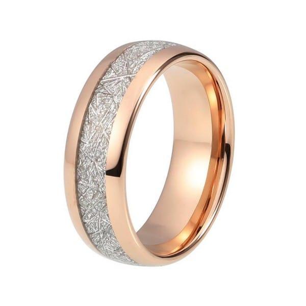 Rose Gold Engagement Ring Set