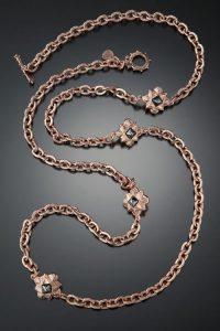Rose Gold Necklaces Sale