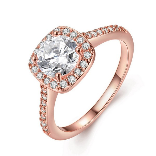 Rose Gold Vintage Engagement Rings