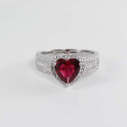 Ruby Rings Jewelry