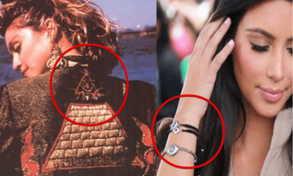 Secret Symbol Eye Of Providence Madonna Kim Kardashian