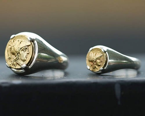 Signet Rings With Coat Of Arms
