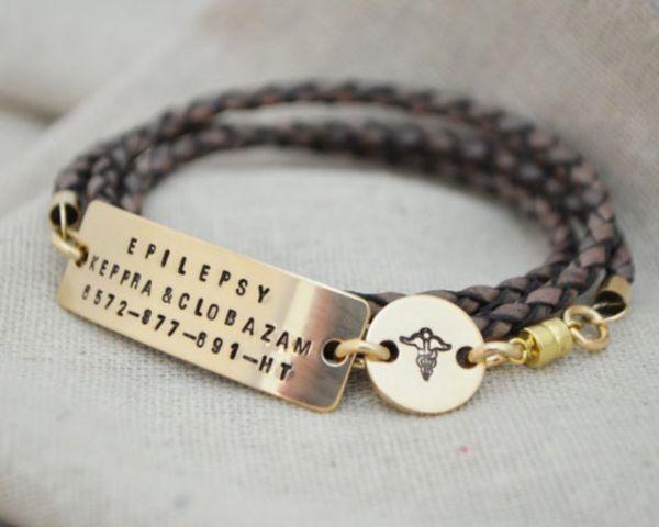 Silicon Medical Alert Bracelets