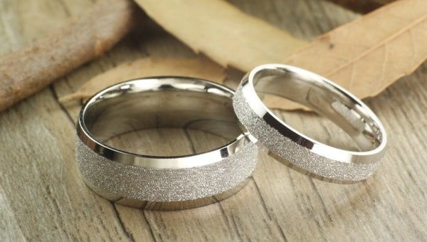 Silver Couples Rings