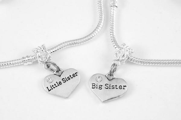 Silver Sister Bracelets