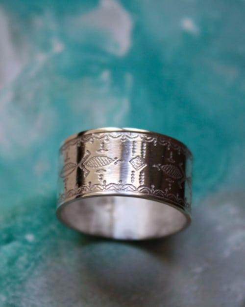 Silver Thumb Rings