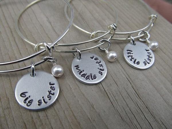Sister Bracelets For Three