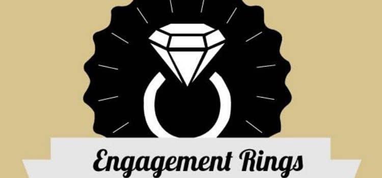 surprising engagement rings