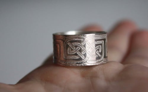 Thumb Rings Bow