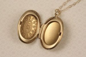 Tiffany Locket Necklace