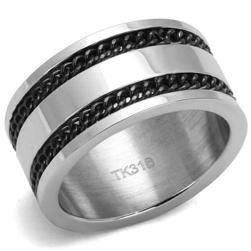 High polished Stainless Steel Epoxy Ring