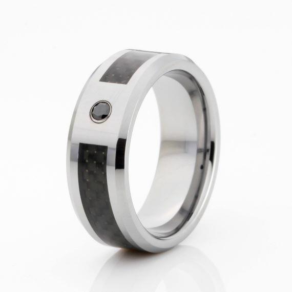 Unique Mens Wedding Bands Silver