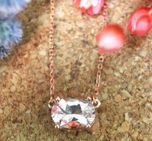 Unique Rose Gold Necklace