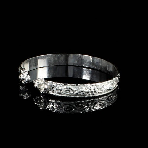 Unique Silver Bangles