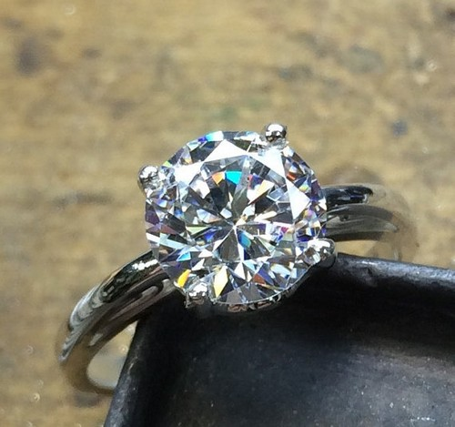 Vintage Gold Engagement Ring