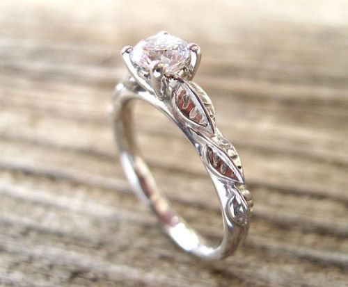 Vintage Gold Engagement Rings Pinterest