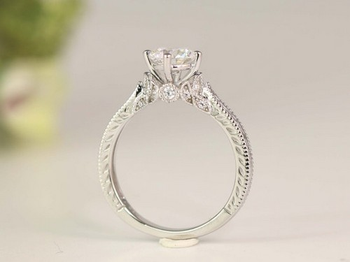 Vintage Gold Engagement Rings Uk