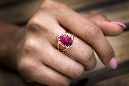 Vintage Ruby Rings For Sale