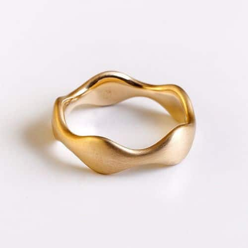 Wedding Rings Rose Gold