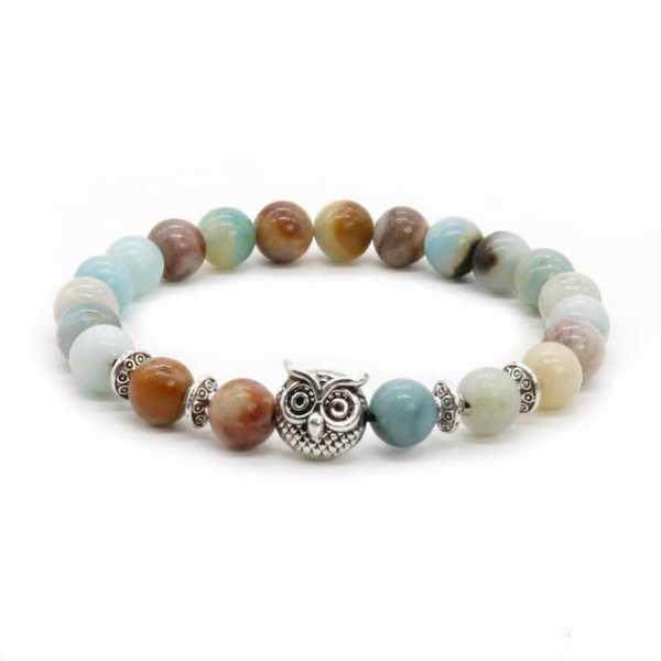Womens Owl Bracelet