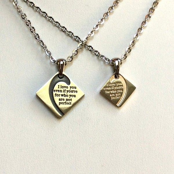 Yin And Yang Couples Necklaces
